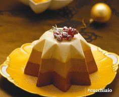 Bavarese di Natale ai tre cioccolati #Natale #Christmas