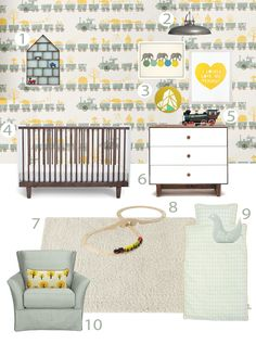 My Modern Nursery #64: Inspired by Ferm Living