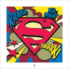 Superman - Pop Art Shield