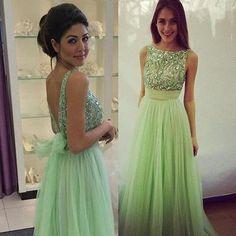 O-Neck A-Line Prom Dresses,Long Prom Dresses,Cheap Prom Dresses, Evening Dress Prom Gowns, Formal Women Dress,Prom Dress