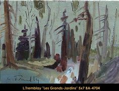 Original oil painting on canvas by Louis Tremblay Canadian Artists, Oil Painting On Canvas, Original Paintings, Landscape, Paint, Scenery, Corner Landscaping