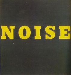 noise // Ed Ruscha