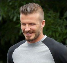 David Beckham Faux Hawk