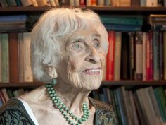 Hedda Bolgar, 102 years old, psychotherapist who sees clients 4 days a week. Inspiring!!