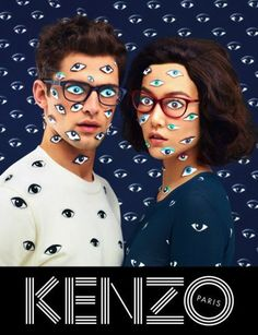 Сюрреалистичная рекламная кампания Kenzo