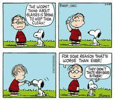 Linus and Snoopy Snoopy Comics, Snoopy Cartoon, Peanuts Cartoon, Peanuts Gang, Cartoon Pics, Peanuts Comics, Old Cartoons, Funny Cartoons, Funny Comics