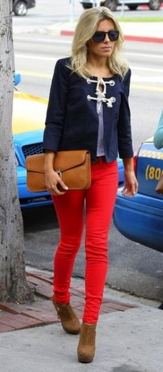 Love Mollie King's style. The jacket is only $85.94