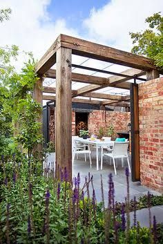Image result for front pergola