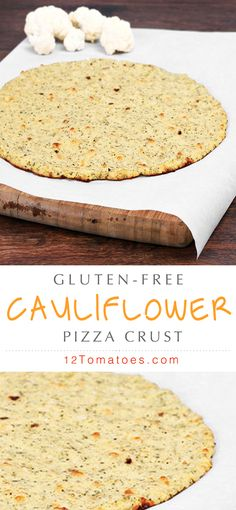 Maybe you're looking to nix some carbs from your diet, or maybe you've got a gluten allergy but don't want to miss out on bubbly pizza. Whatever the reason, cauliflower comes through as an unexpected but tasty substitute for any pizza's crust. So grab your baking utensils ready and try out this amazing gluten-free cauliflower pizza crust!