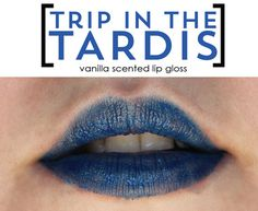 Trip in the TARDIS lip colour by TheGeekStudio on Etsy