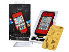 Red LifeProof Case for the iPhone 4/4S - $28.00