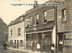 """""""The Old Red Cow"""" Prince's St. 1860"""