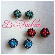 Tutorial of this earrings  http://youtu.be/TE-HofCDgw4 #tutorial #earrings #orecchini #lobo #orecchinialobo