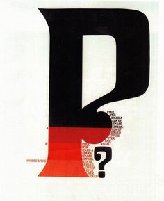 Herb Lubalin – Affiche Peter Piper