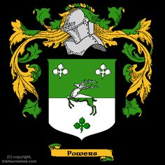 Powers Coat of Arms, Family Crest - Click here to view