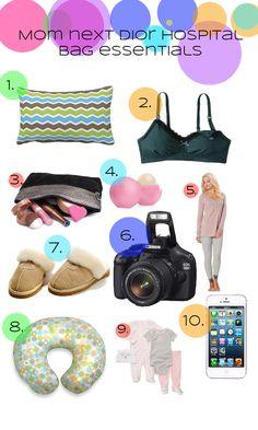 Hospital Essentials! Great List On Her Website!
