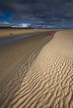 Sand ripples, Burry Port beach, Wales www.mariowenphotography.com Wales, Sea, Photos, Outdoor, Pictures, Outdoors, Photographs, Ocean, Outdoor Games