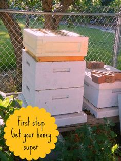 How to process raw honey with an extractor by Homestead Lady