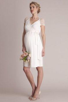 Robe de mariée femme enceinte Séraphine