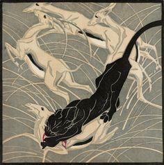 Norbertine Bresslern-Roth 'Überfall' 1922.