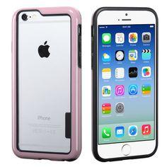 MYBAT Low-Profile Hybrid Bumper iPhone 6 Case - Pink/Black