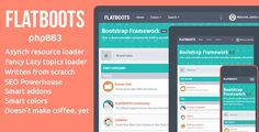 FLATBOOTS - #Responsive Premium Template #phpBB 3.1 #PhpBBForums via @medosadvert