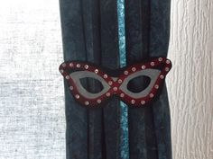 Card masks make great decorations and so easy and cheap to make :-)