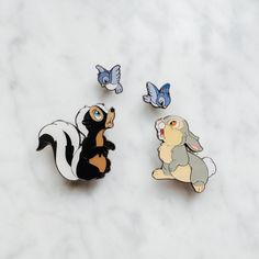Disney pins bambi