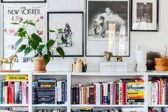 book, bookshelf, and rooms afbeelding