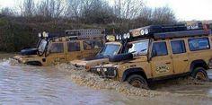 Land Rover Defender Camel Trophy Adventure