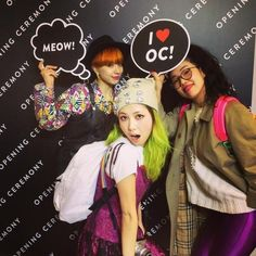 RT @coi_bubbles: I heart OC! I heart shopping! Lol w/ @Unakinoco @Rieko Ito http://flip.it/enmwZ