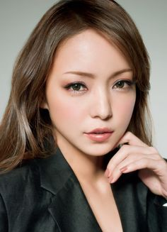 """""""Active Glamorous"""" from Kose~ the one and only Namie Amuro is gorgeous as always.    I love the look with the nude/beige nail color"""