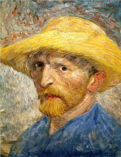 Self Portrait 1887. Vincent van Gogh
