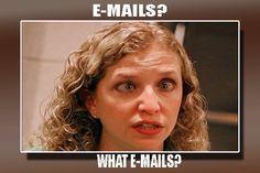 What E-mail? Funny Political Meme