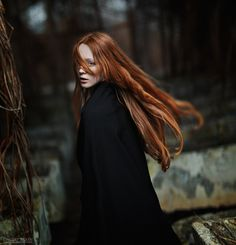 Dmitry Ageev has recently put up some new images, which go beyond the typical headshot or portrait. Character Inspiration, Hair Inspiration, The Ancient Magus Bride, Smoky Eyes, Ginger Hair, Shades Of Red, Freckles, Redheads, My Hair