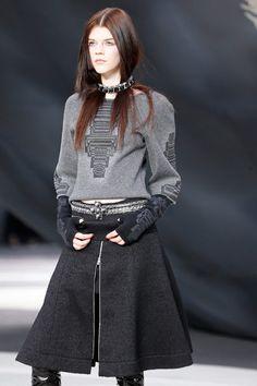 Chanel Fall-Winter 2014 #fashion #paris #ykone #PFW #hair #straight