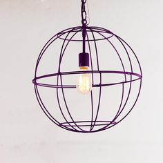Young House Love Small Wire Globe Lantern - 7 Colors - For the foyer?