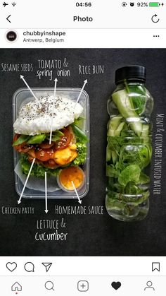healthy snacks - Ever considering that the first landmark research study about sugar being more addictive than cocaine was published in August the medical world has actually turned its attention to the threats of sugar due to it hooking individuals i Lunch Meal Prep, Easy Meal Prep, Healthy Meal Prep, Healthy Foods To Eat, Healthy Snacks, Easy Meals, Healthy Eating, Healthy Recipes, Little Lunch