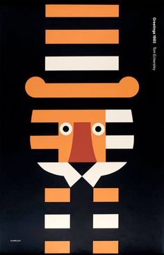 INVESTGATE COMPONENTS Image of Tom Eckersley Poster: Greetings (1983)