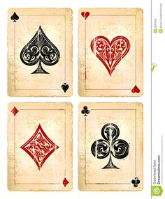 Grunge Poker Cards - Download From Over 38 Million High Quality Stock Photos, Images, Vectors. Sign up for FREE today. Image: 35287652