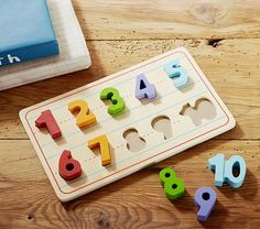 Numbers Puzzle #pbkids