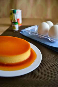 The world's best baked flan recipe. The caramel and cream just go together very well. Everyone will love this baked flan recipe PERXFOOD. Filipino Desserts, Easy Desserts, Delicious Desserts, Dessert Recipes, Yummy Food, Baked Flan Recipe, Best Flan Recipe, Cuban Flan Recipe, Spanish Flan Recipe