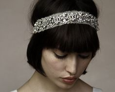 Dress up your style with a headband or bangs!