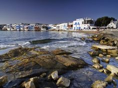 Mykonos Island, Greece  Photograph by Gerhard Zwerger-Schoner/Photo Library    International travelers love the Cycladic architecture, unspoiled beaches, and vivid nightlife of Greece's most popular island, Mykonos.