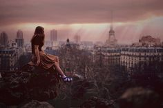 """Gerturde Stein said, """"America is my country but Paris is my hometown."""" I'll always feel that way about Paris. With all my heart. All I Ever Wanted, Deviantart, God Is Good, That Way, In This World, My Dream, Find Image, Beautiful Places, In This Moment"""