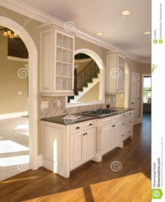 Luxury Model Home White Kitchen Royalty Free Stock Images Home Decor Ideas Bedroom Kids, Home Decoration Diy, Home Decoration Products, Home Decoration Diy Ideas, Home Decoration Design, Home Decoration Cheap, Home Decoration With Wood, Home Decoration Ideas. #decorationideas #decorationdesign #homedecor Kitchen Decor, White Kitchen, Image House, Small Space Kitchen, Kitchen On A Budget, Kitchen, Kitchen Design, Luxury Kitchen, Home Decor