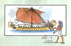 [link] Navire de commerce égyptien