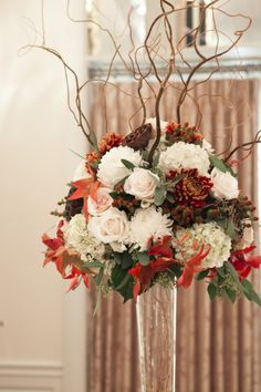Fall Wedding Flowers repined by New York City Florist Sandra's  Donath's Florist #NYC #fallwedding