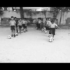 JFK coaching at GHPS Govindaraja Nagar in Bengaluru
