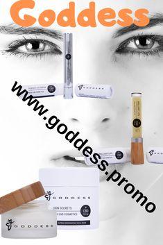Natura Vitalis Goddess High End Cosmetics, Skin Secrets, Brilliant Lips, Perfect Eye Serum Anti Aging, Skin Secrets, Perfect Eyes, Facial Cream, Eye Serum, The Secret, Lips, Cosmetics, Health And Wellness